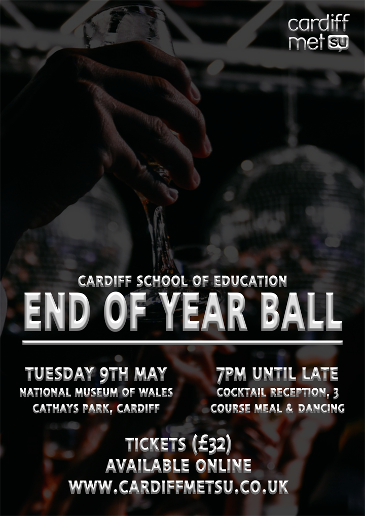 Cardiff School of Education End of Year Ball
