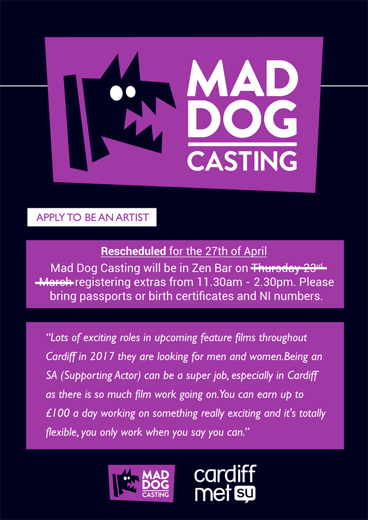 Mad Dog Casting (Llandaff Campus)
